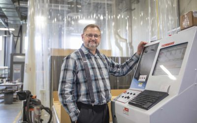 Business is resin-ating: Environmentally friendly resin manufacturer, founded at the Oak Bluff Hutterite Colony, now ships its products all over the world